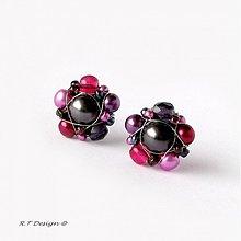 Náušnice - Náušničky Blackberries... - 1033476