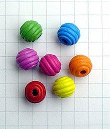 Korálky - drevená korálka 1,5 cm/ 1 ks - 1034351