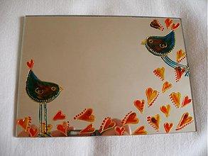 Zrkadlá - zrkadlo Zaláskované vtáčiky - 1034903