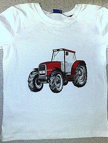 Oblečenie - traktory, autá - 1036099