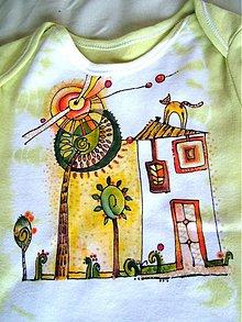 Detské oblečenie - Zelené ráno - 1036814