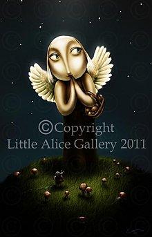 Obrázky - Tlač na PLÁTNE A4 - vyberte si z ilustrácií - 1039034