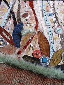 Obrazy - Textilný art quilt - 1040889