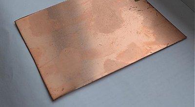 Suroviny - Medený plech na tvorenie - 1044205