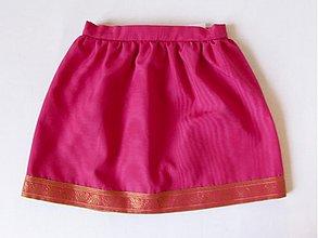 Detské oblečenie - Hodvábna suknička - 1045778