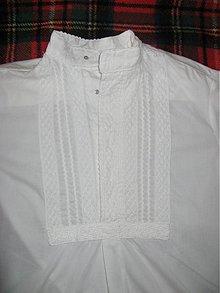 Oblečenie - Košeľa s paličkovanou čipkou - 1046228