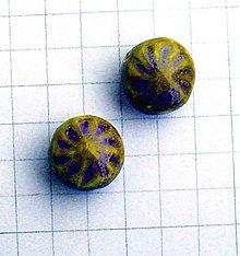 Korálky - porcelánová 2 cm/ 1 ks - 1046279