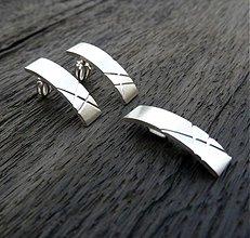 Sady šperkov - Naušnice se závěsem - 1048081