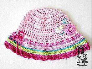 Návody a literatúra - Letní klobouček - návod - 1055454
