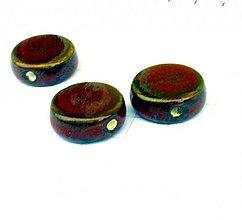 Korálky - porcelánová 2 cm / 1 ks - 1056879