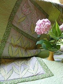 Úžitkový textil - Tulipány za oknom...:) - 1059075