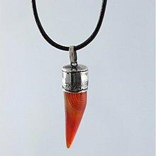 Šperky - Prívesok Achátový ZUB - 1059321