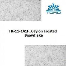 Korálky - T014 TOHO rokajl 11/0 Ceylon Frosted Snowflake - 1068919