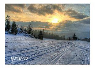 Fotografie - Zimné západy - 1070679