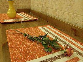 Úžitkový textil - Prestieranie - pásik...:))) - 1076452