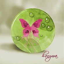 Zrkadielka - motýľ - 1082169