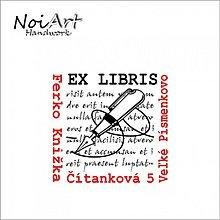Nezaradené - Razítko EX LIBRIS pero - 1087286