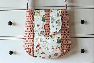 Veľké tašky - veselé sovy :-) - 1087626