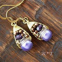Náušnice - Náušničky Nefertiti... - 1090675