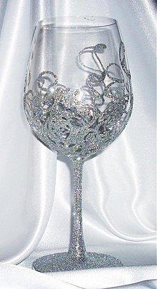 Nádoby - Svadobné poháre - 1090812