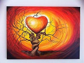 Obrazy - Strom lásky - 1092526