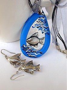 Sady šperkov - Ako ryba vo vode (hypoalergénne) - 1096830