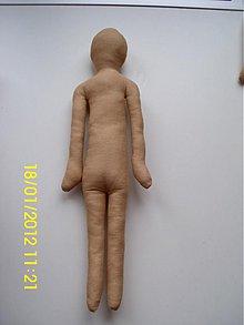 Materiál ručne robený - telo bábiky - 1099425