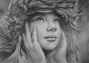 Kresby - ...chránená nehou dlaní... - 1099719