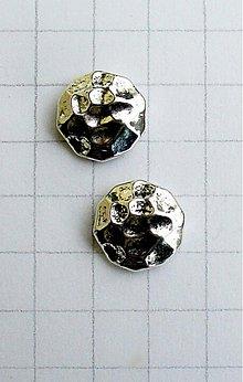 Korálky - kovová korálka/ 1 ks - 1099819