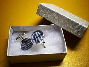 Šperky - Námorník - manžetové gombíky - 1101808