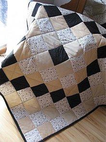 Úžitkový textil - Kávička čierna, biela... - 1105740