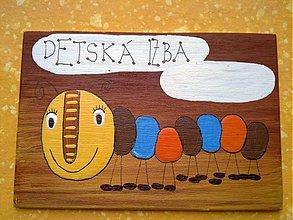 Tabuľky - menovka na dvere -DETSKÁ IZBA - 1112993