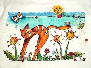 Detské oblečenie - Kocúr Bonifác - 1117925