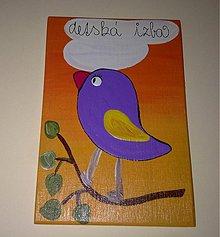 Tabuľky - menovka na dvere -DETSKÁ IZBA - 1120273
