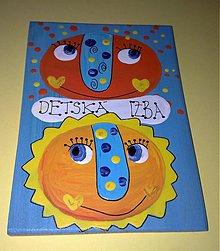 Tabuľky - menovka na dvere -DETSKÁ IZBA - 1120329