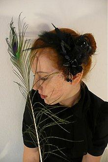 Ozdoby do vlasov - Čierna kalia by Hogo Fogo - 1121934