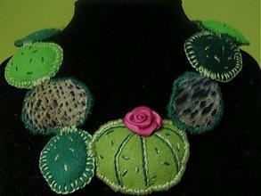 Náhrdelníky - I love kaktus...  - 11235