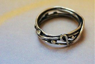 Prstene - Ružancek -rybka - 1127521