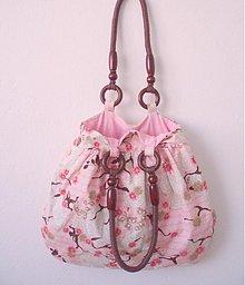 Veľké tašky - ...rose bag... - 1134393