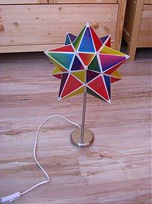 Svietidlá a sviečky - Diamantová hviezda - 113724