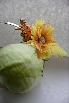 Ozdoby do vlasov - Veselá korytnačka by Hogo Fogo - 1138956