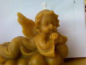 Pomôcky/Nástroje - Silikónová forma anjel ležiaci na obláčiku - 1139590