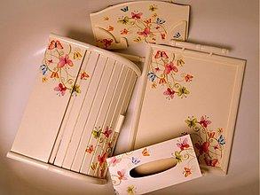 Dekorácie - Colorful butterflies - 1143586