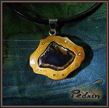 Náhrdelníky - ...náhrdelník - .ACHÁT- Buxus Sychrov 2. - 1143967
