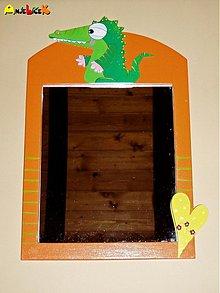 Zrkadlá - Zrkadlo krokodíl - 1144884