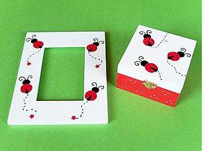 Krabičky - lienky, lienky a opäť lienky - 1145603
