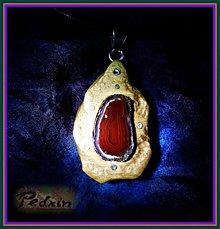 Náhrdelníky - ...ACHÁTOVÝ  Šíp z Trosek - 1146468