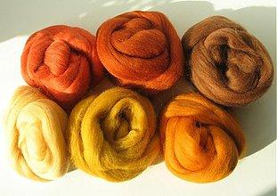 Textil - Hnedá medená 60 g - 1147021