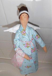 Bábiky - Puntičkárka z kúpeľne - 1153406