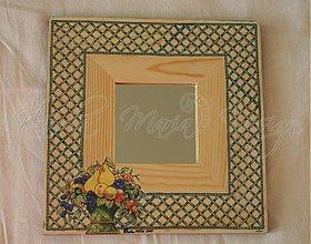 Zrkadlá - zrkadlo košík s ovocím - SKLADOM - 1154752